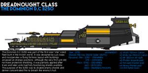 'THE DOMINION' D.C II250 Dreadnought Class