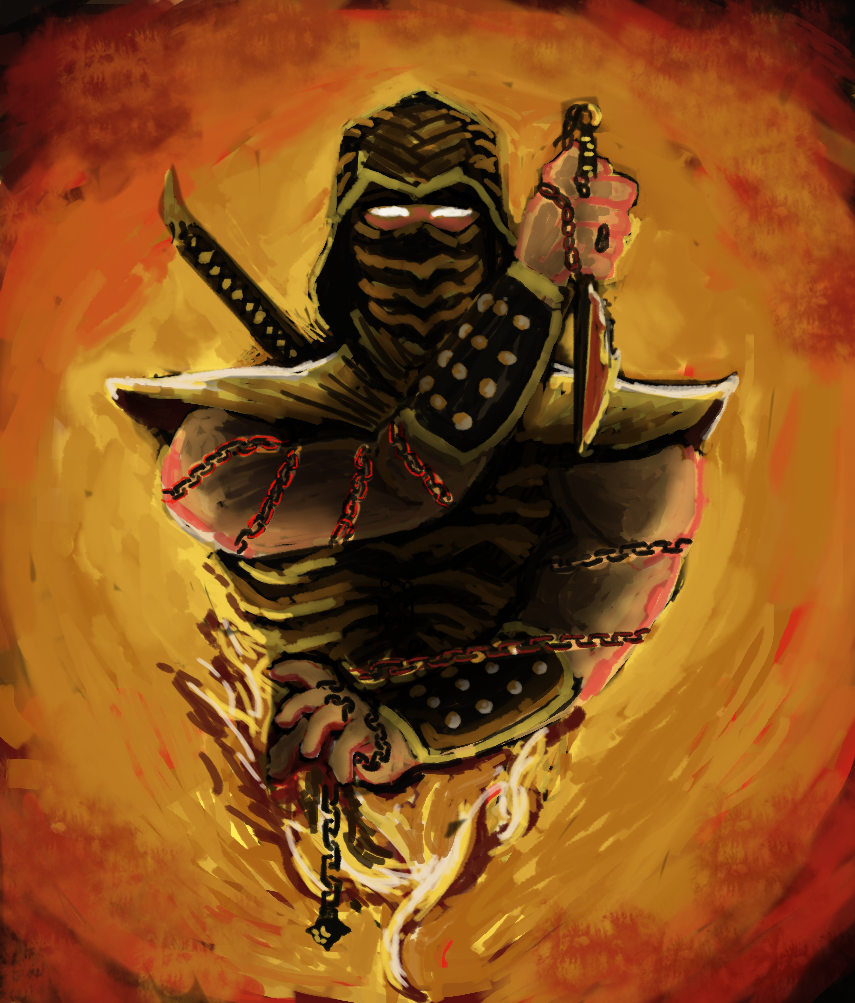 Scorpion On Mortal Kombat Fans Deviantart