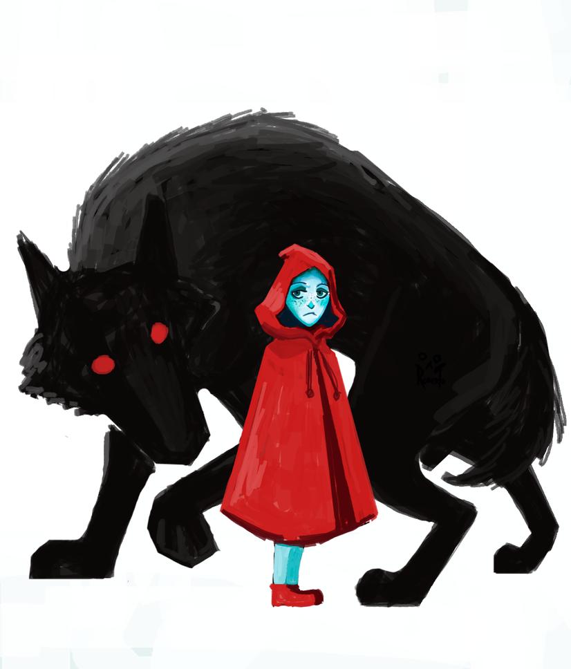 Little Red Riding Hood by RobertoMontesinos