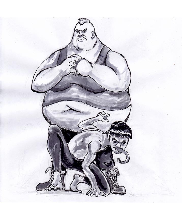 Blob and Toad by RobertoMontesinos