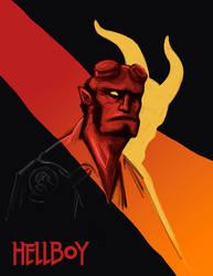 Hellboy 25th anniversary by RobertoMontesinos