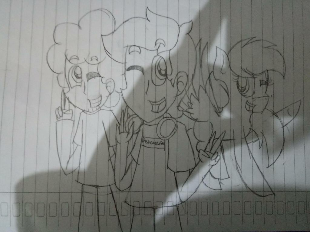 (Sketch) Triple Birthday Bois by Luigis-Sister18