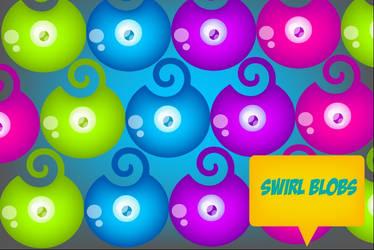 Swirl Blobs by Moon-Jelly