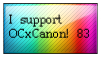 I support OCxCanon by fagonstar
