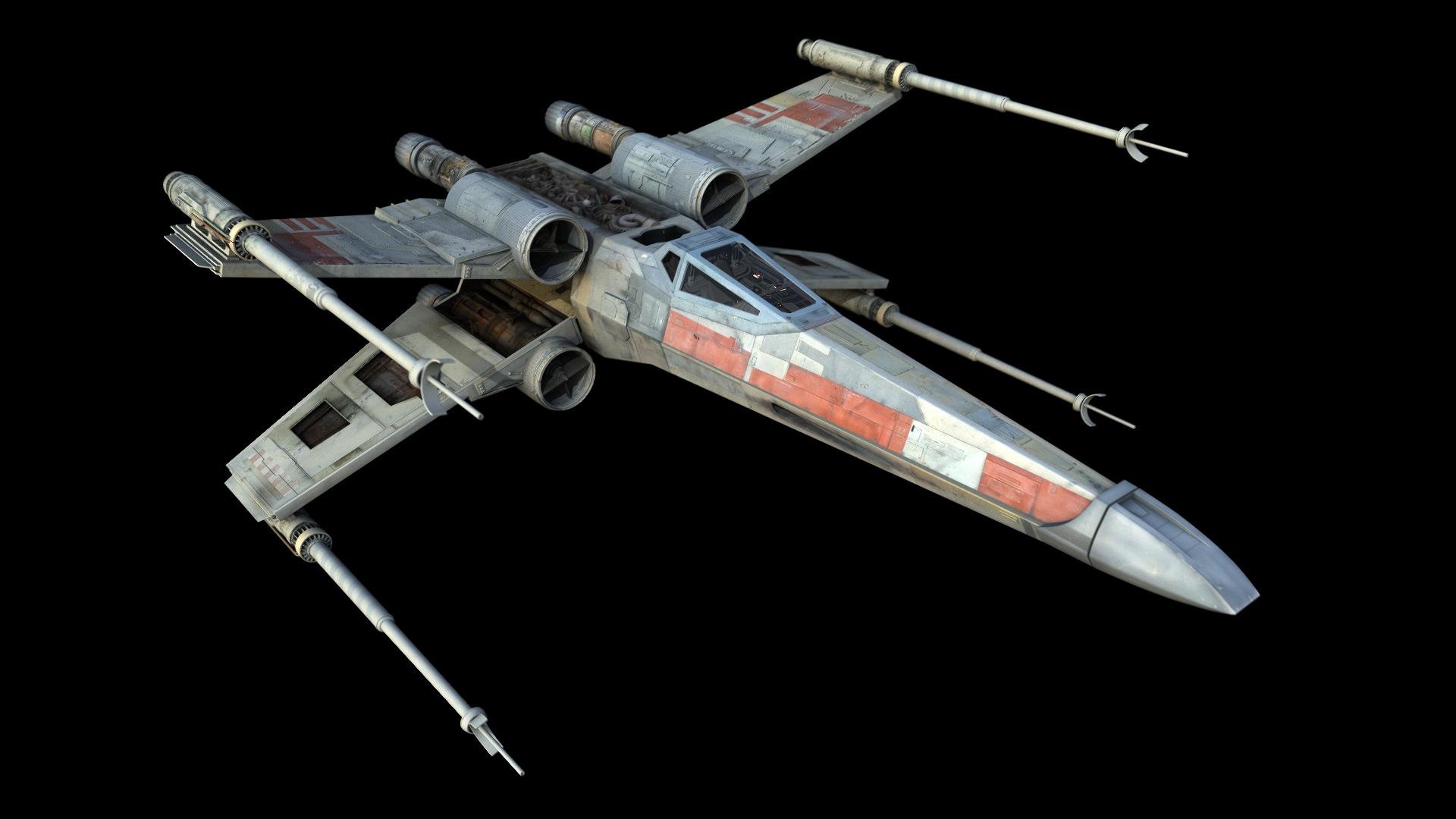 Модель star wars the force awakens poes x-wing fighter кит