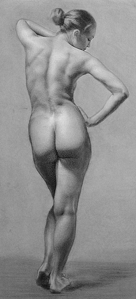 Figure Study by WoodyLWG