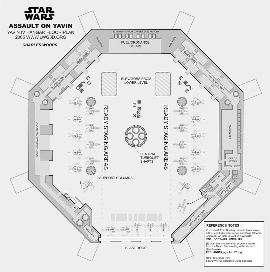 yavin hangar floor plan by woodylwg on deviantart