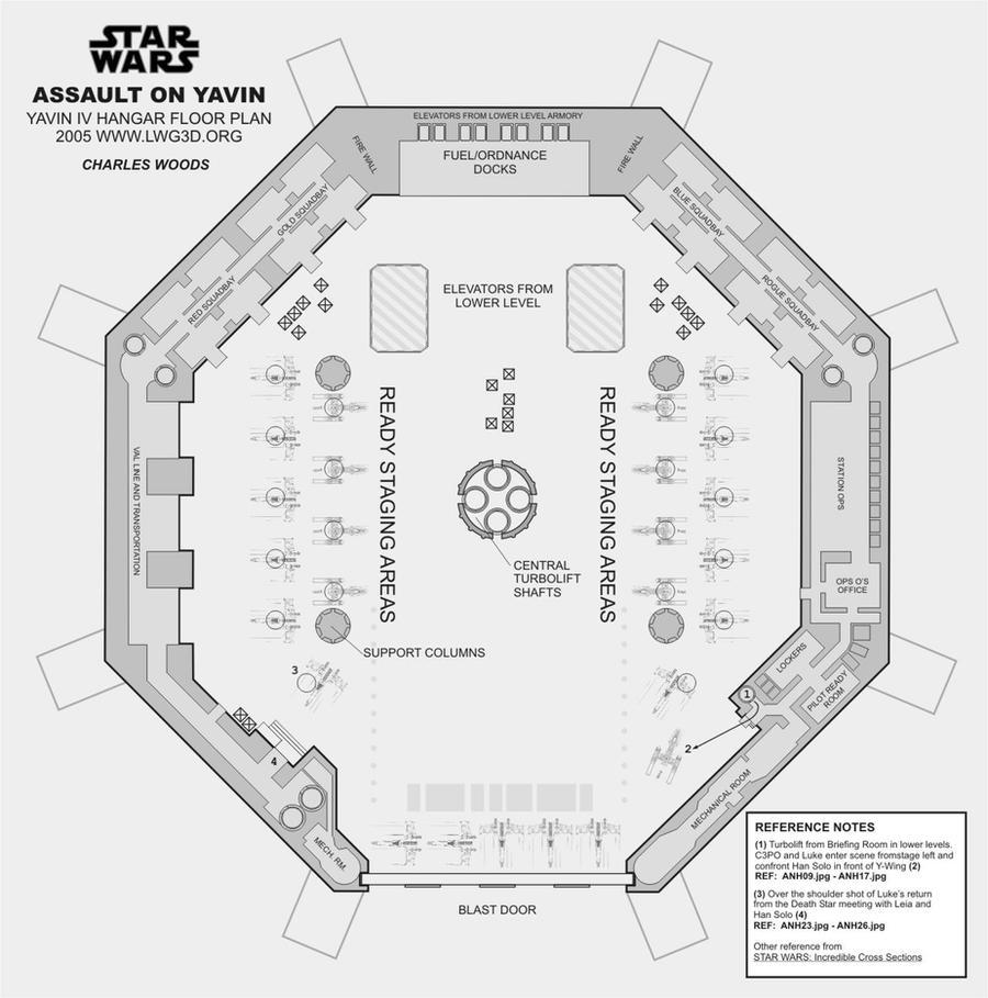 Yavin hangar floor plan by woodylwg on deviantart for Hangar home floor plans