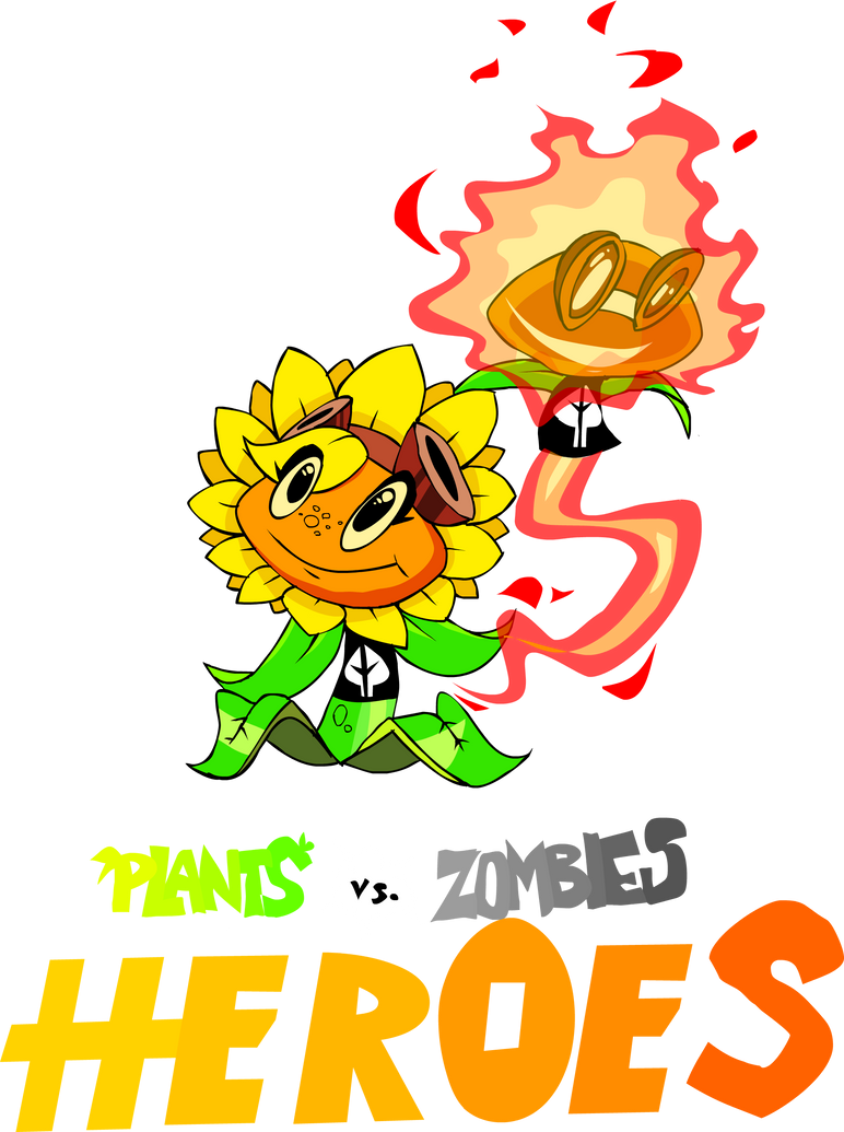 Plants vs. Zombies HEROES: Solar Flare by DevianJp824 on ...