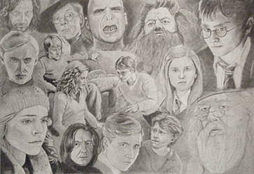 Harry Potter by KimberlyHullStudio