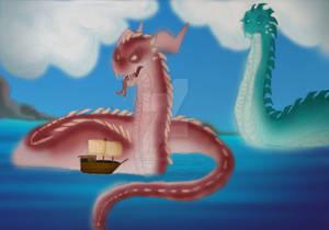 Sea Serpent colour