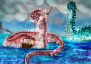 Sea serpent completely finished