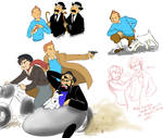 Yet even more Tintin