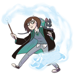 Pottermore me by NatAsplund