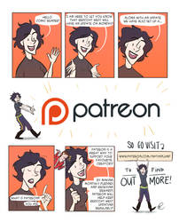 Comic update announcement and Patreon!