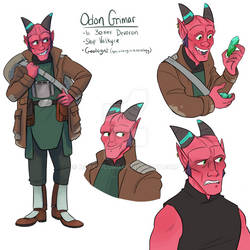 Odon - Star Wars oc