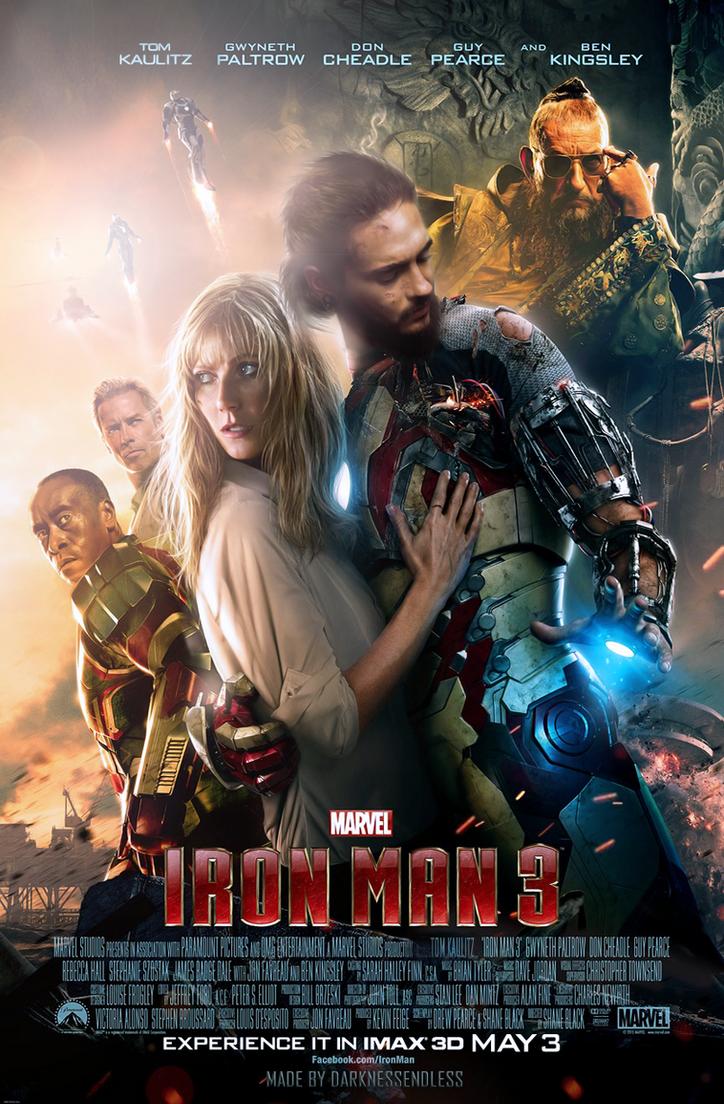 Iron Man   Tom Kaulitz by DarknessEndless