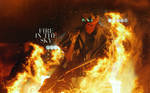 Fire in the Sky   Tom Kaulitz wallpaper by DarknessEndless