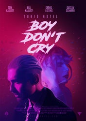 BOY DON'T CRY | Digital poster by DarknessEndless