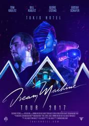 DREAM MACHINE TOUR | Digital poster by DarknessEndless