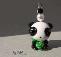 Panda charm by RedFenyx