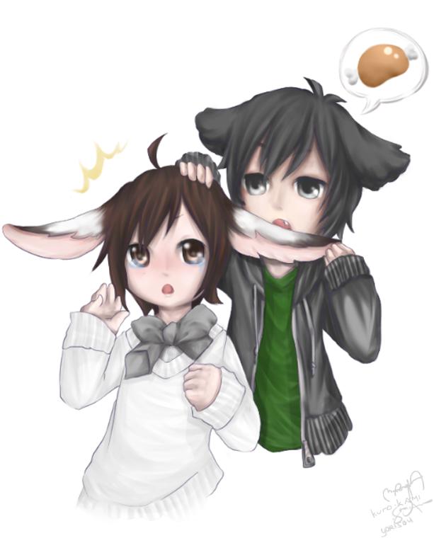 Collab: Yorisou and Kuro Kami by Artsickle