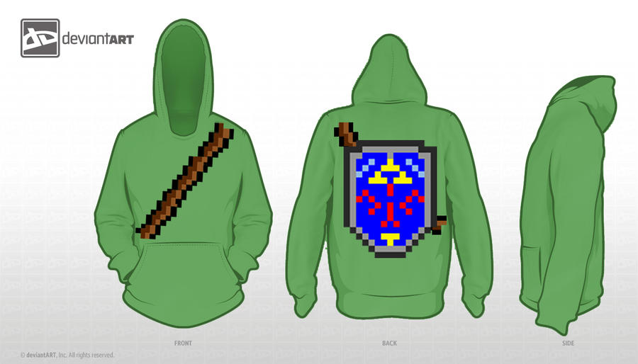Hero of time Hoodie by AndyRoks