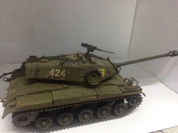 M41 Walker Bulldog. Scale:1/35. Brand: Tamiya. by franciscoa51
