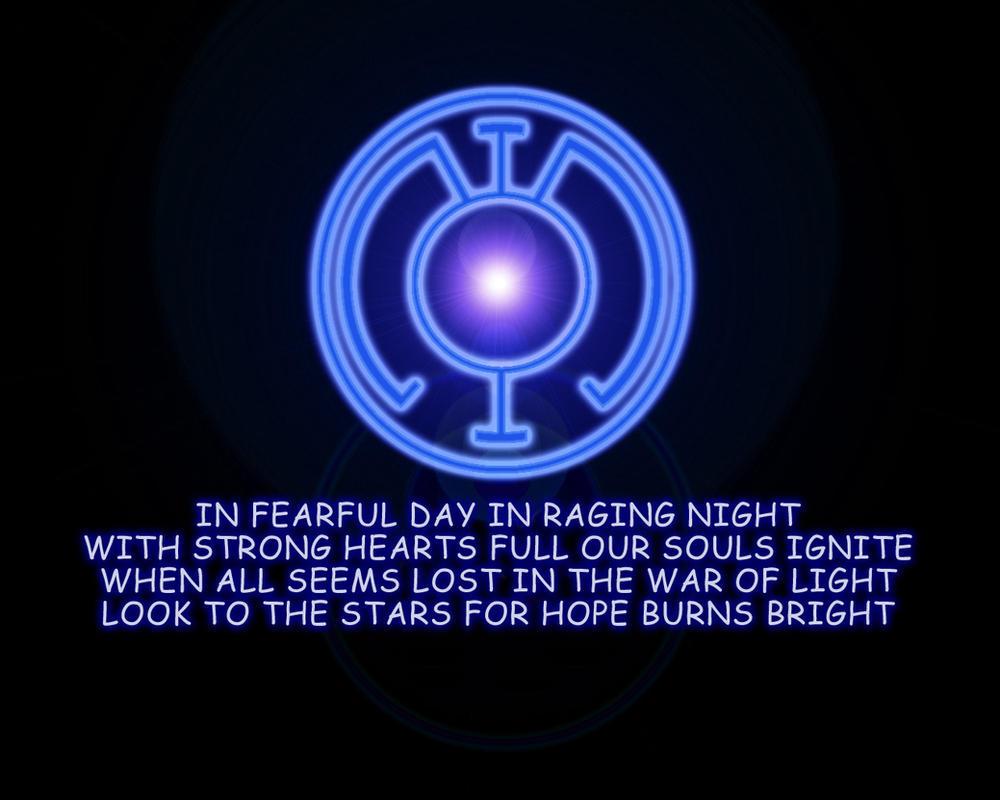Blue Lantern Corps Oath
