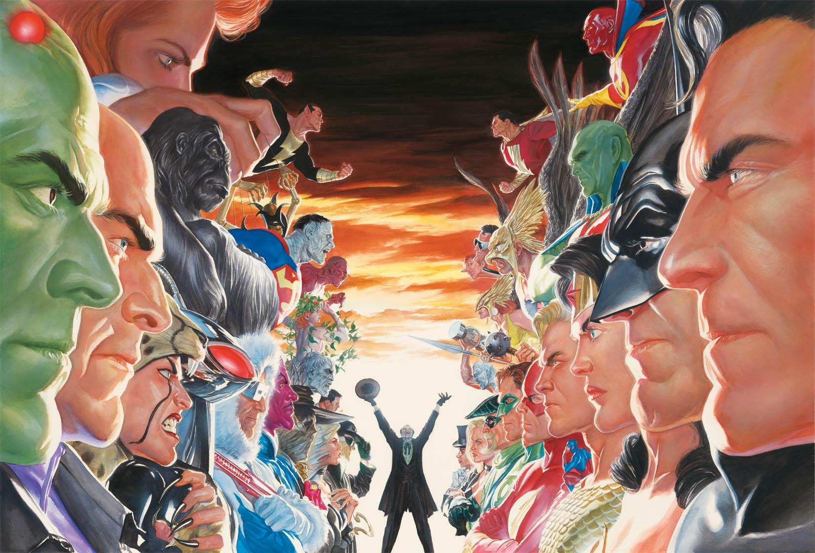 Absolute Justice Wallpaper By Saikat4ever On Deviantart