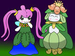 Felraune and Lilligant