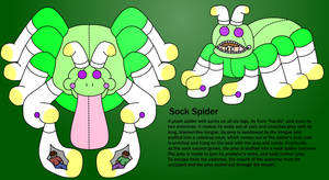 Sock Spider by Ephraim225