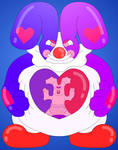 The Rubber Bunny Clown of Hearts