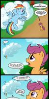 Rainbow Crash the Wonderbolt (Commission)