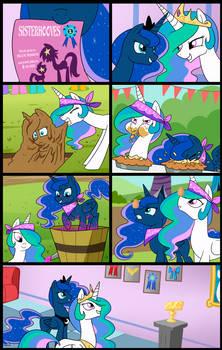 Sisterhoof Social:Celestia and Luna (Commissioned) by tan575
