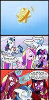 MLP: Princess fight part 2 (Commissioned)