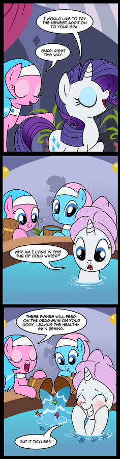 MLP: Fish Spa (Commissioned)