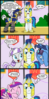 MLP: Recruit Shining Armor (commissioned) by tan575
