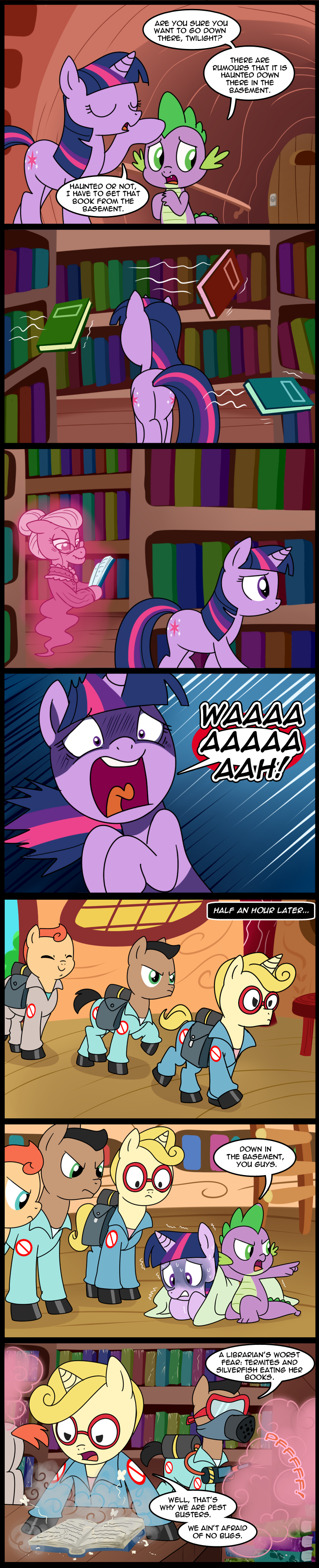 MLP: Down in the basement (Commissioned) by tan575
