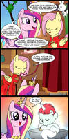 MLP: A pet for Princess Cadence
