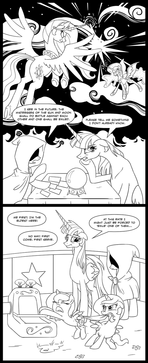 MLP: Foreseeable Future by tan575