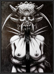 LadySkull by TheArtofConstantine