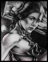 SlaveLeia by TheArtofConstantine