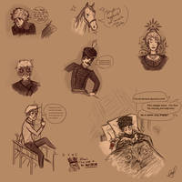 Sketchdump I by JokerBigBeatle