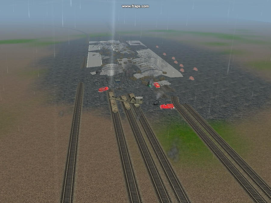 my main station got blown up by ilovetrains01