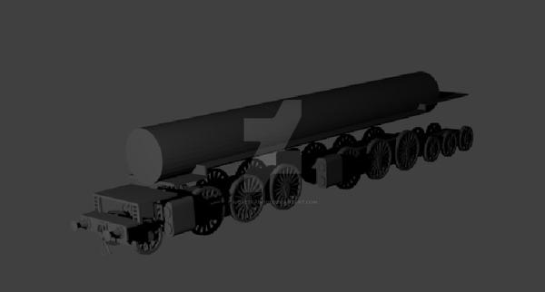 Sam progress 3 (buffers included) by ilovetrains01