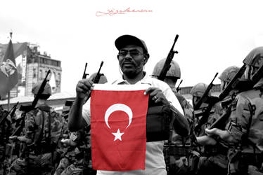 Turkey Flag by GozdeErcan