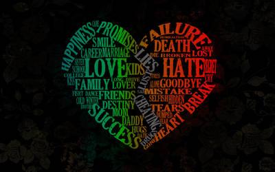 Love versus Hate by RoohaT