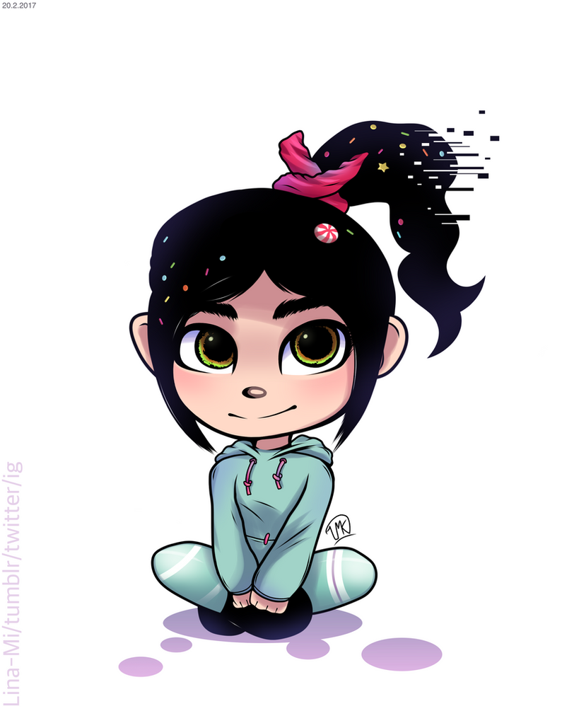 Vanellope by Lina-Mi