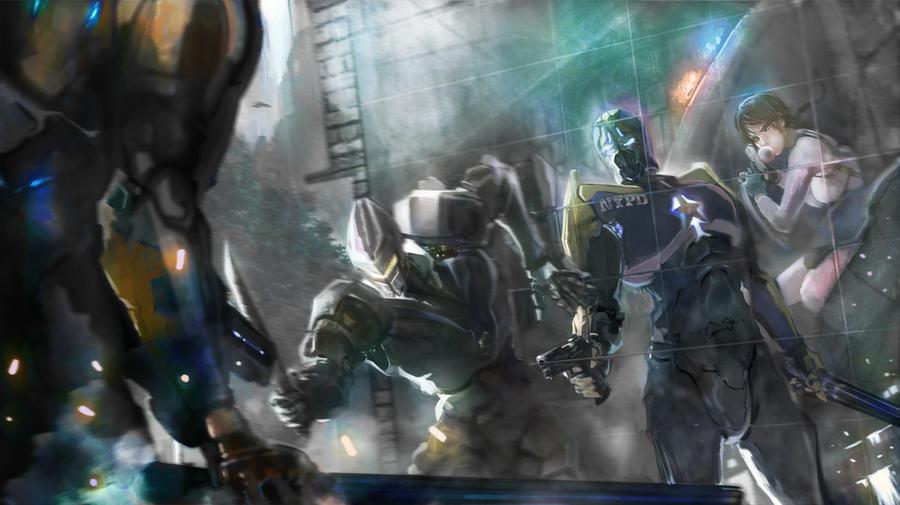 scifi by THEZENTLION